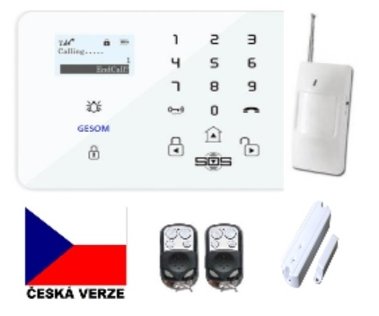 GSM Alarm GESOM 400cz GSM Android iOS