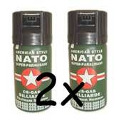 Set 2x Sprej Nato Pepper Gel 50ml